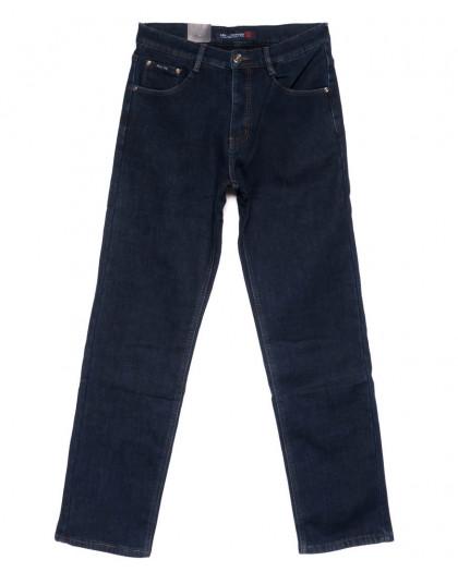 89006 LS джинсы мужские синие на флисе зимние стрейчевые (30-38, 8 ед.) LS