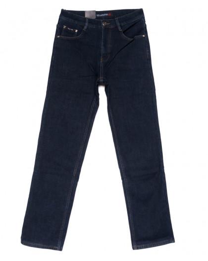 89005 LS джинсы мужские синие на флисе зимние стрейчевые (30-38, 8 ед.) LS