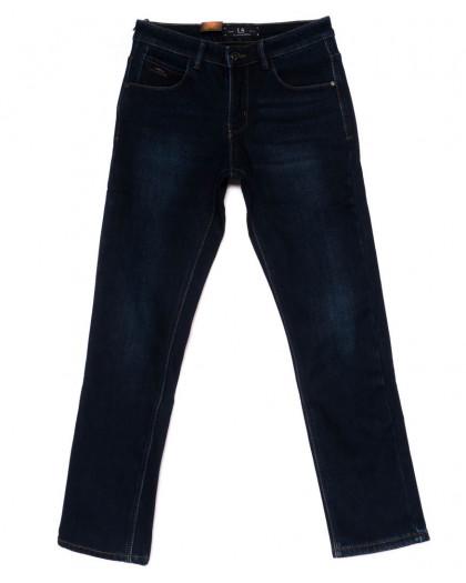2025 LS джинсы мужские синие на флисе зимние стрейч-котон (29-38, 8 ед.) LS