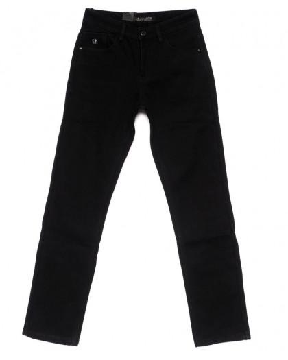 2007 LS джинсы мужские черные на флисе зимние стрейч-котон (30-38, 8 ед.) LS