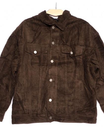 2035-3 X куртка женская вельветовая осенняя стрейчевая (S-2XL, 5 ед.) X