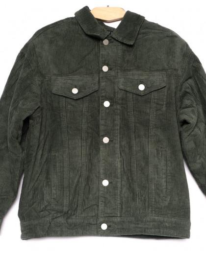 2035-2 X куртка женская вельветовая осенняя стрейчевая (S-2XL, 5 ед.) X
