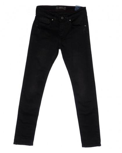 6153 Denim джинсы мужские черные осенние стрейчевые (29-36, 8 ед.) Denim