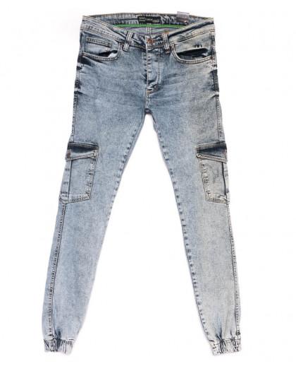 5728 Destry джинсы мужские на резинке модные осенние стрейчевые (29-36, 8 ед.) Destry