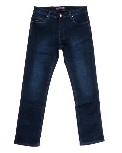 3713 Bigboss джинсы мужские синие на флисе зимние стрейчевые (31-36, 8 ед.) Bigboss