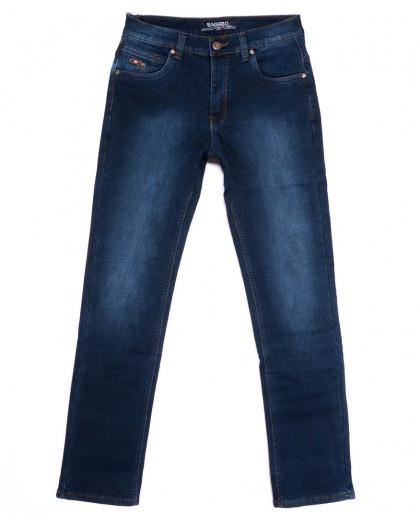 2272 Bagrbo джинсы мужские полубатальные на флисе зимние стрейчевые (32-38, 8 ед.) Bagrbo