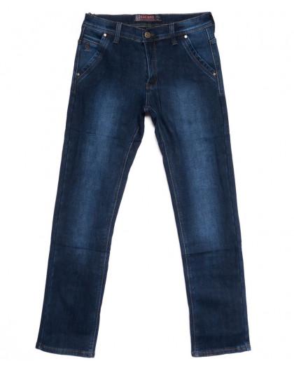 0877 Bagrbo джинсы мужские полубатальные на флисе зимние стрейчевые (32-38, 8 ед.) Bagrbo