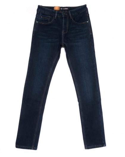 2035-X LS джинсы мужские молодежные на флисе зимние стрейчевые (27-34, 8 ед.) LS