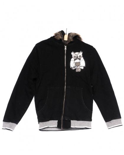 0910-9 X куртка женская модная осенняя стрейчевая (S-M, 4 ед.) X