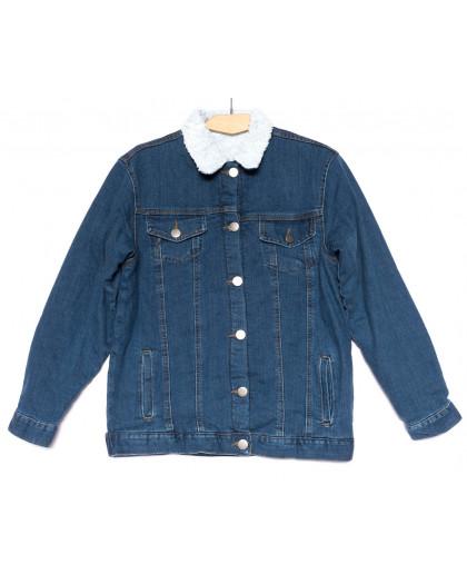 0910-8 X куртка женская модная осенняя стрейчевая (XS-M, 5 ед.) X