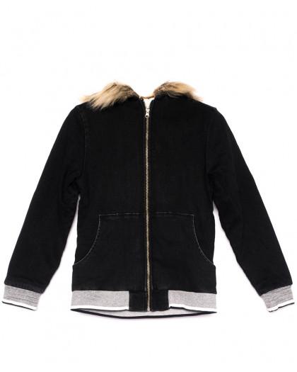0910-7 X куртка женская модная осенняя стрейчевая (S-M, 4 ед.) X