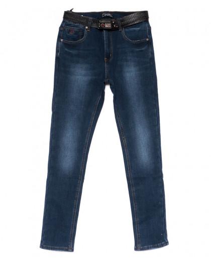 0383 DKNS джинсы женские батальные на флисе зимние стрейчевые (30-36, 6 ед.) DKNS