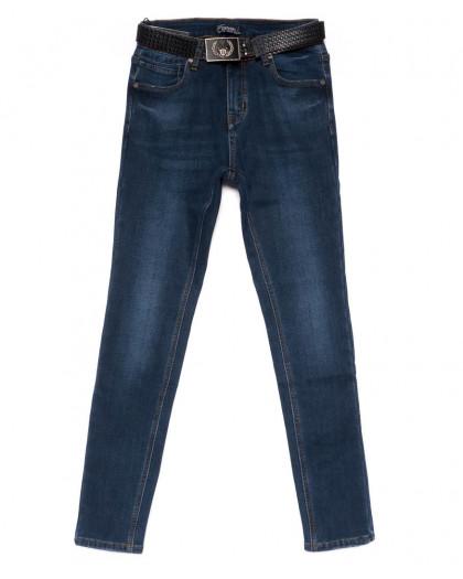 0582 DKNS джинсы женские полубатальные на флисе зимние стрейчевые (28-33, 6 ед.) DKNS