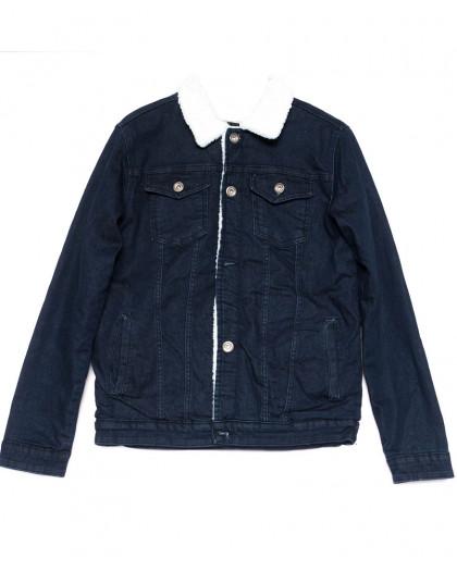 0910-2 X куртка мужская синяя осенняя стрейчевая (S-XL, 5 ед.) X