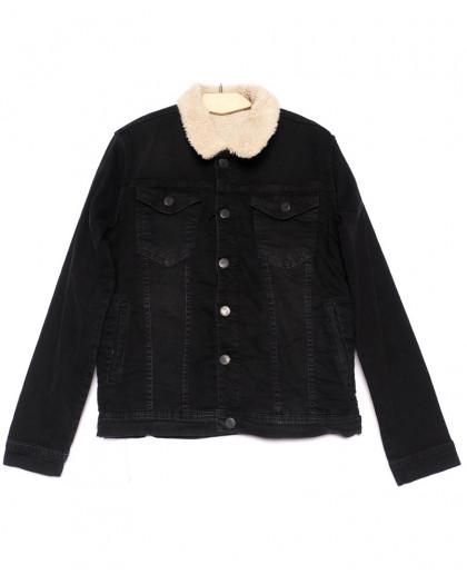 2053 X куртка мужская черная осенняя стрейчевая (S-XL, 5 ед.) X
