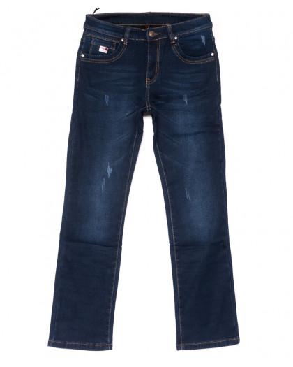 3505 New jeans джинсы мужские с царапками на флисе зимние стрейчевые (29-38, 8 ед.) New Jeans