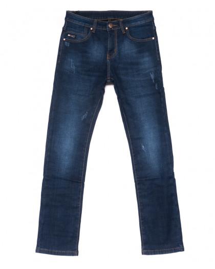 3514 New jeans джинсы мужские молодежные с царапками на флисе зимние стрейчевые (28-36, 8 ед.) New Jeans