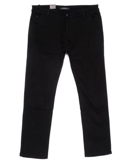 4011-D LS брюки мужские черные батальные на флисе зимние стрейчевые (34-42, 8 ед.) LS