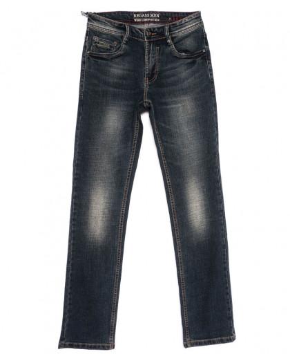 7938-25 Regass джинсы мужские темно-синие осенние стрейчевые (29-38, 8 ед.) Regass