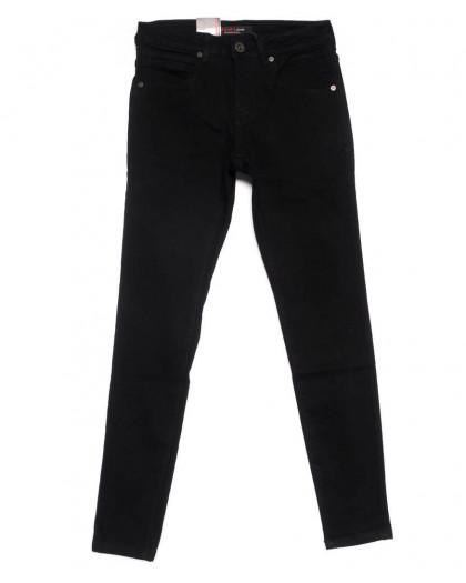 0119 M.Sara джинсы мужские черные зимние на флисе стрейчевые (29-35, 6 ед.) M.Sara
