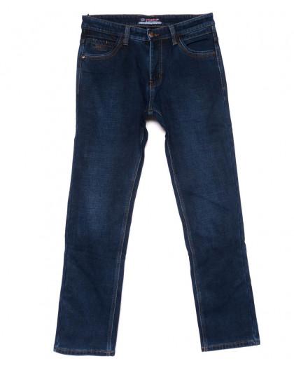 8210 Vouma-Up джинсы мужские полубатальные синие на флисе зимние стрейчевые (32-40, 8 ед.) Vouma-Up