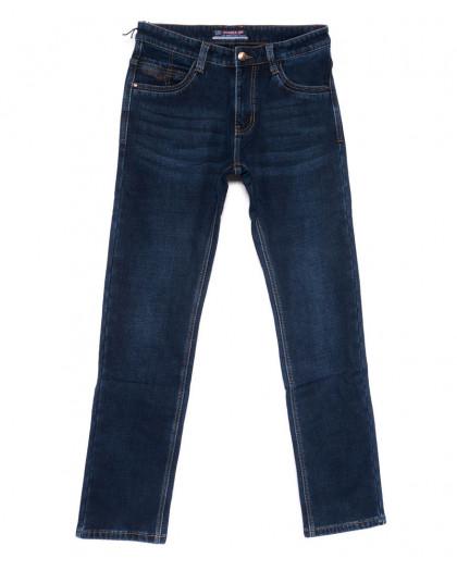 8201 Vouma-Up джинсы мужские полубатальные синие на флисе зимние стрейчевые (32-38, 8 ед.) Vouma-Up