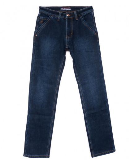 8203 Vouma-Up джинсы мужские синие на флисе зимние стрейчевые (29-38, 8 ед.) Vouma-Up