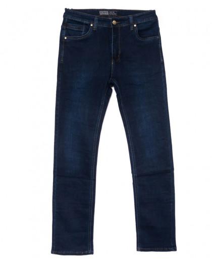 6635 Bagrbo джинсы мужские полубатальные синие осенние стрейчевые (33-38, 8 ед.) Bagrbo