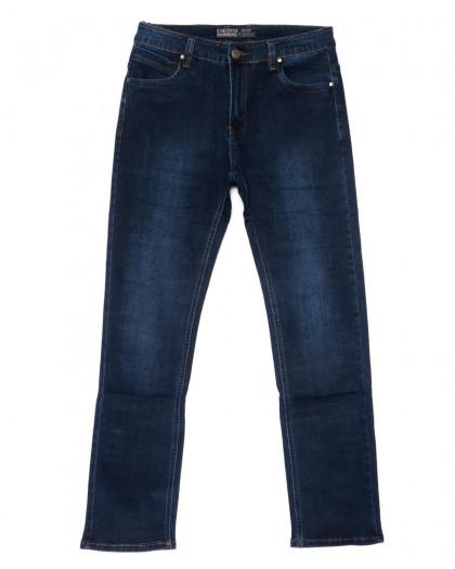 8810 Bagrbo джинсы мужские полубатальные синие осенние стрейчевые (33-38, 8 ед.) Bagrbo