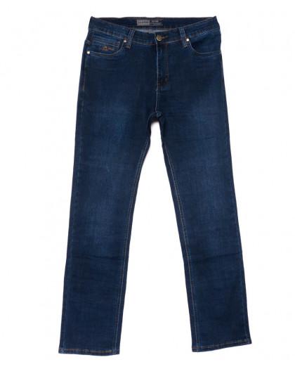 6657 Bagrbo джинсы мужские полубатальные синие осенние стрейчевые (32-38, 8 ед.) Bagrbo