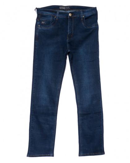 6658 Bagrbo джинсы мужские батальные синие осенние стрейчевые (34-38, 8 ед.) Bagrbo