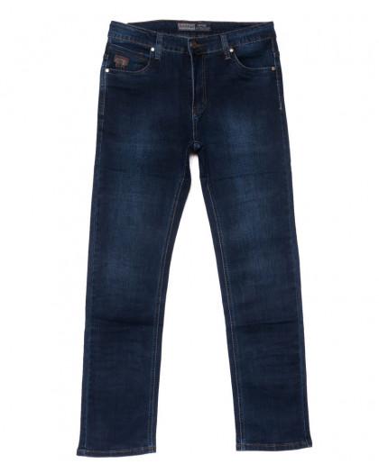 8806 Bagrbo джинсы мужские полубатальные синие осенние стрейчевые (32-38, 8 ед.) Bagrbo