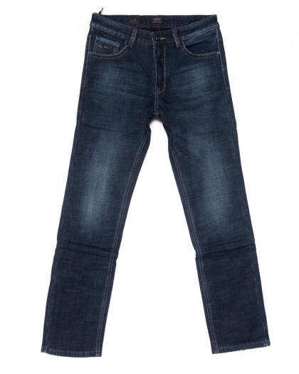 8221 FHOUS джинсы мужские синие на флисе зимние стрейчевые (29-36, 8 ед.)  FHOUS