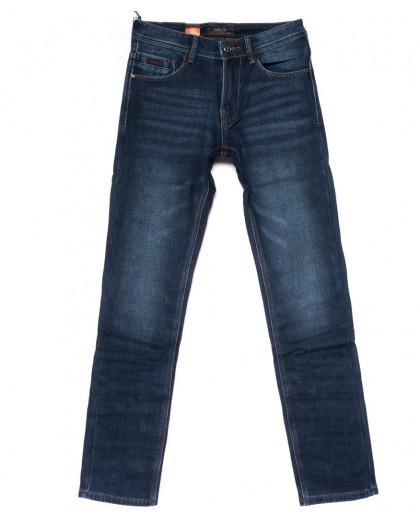 18241 Vouma-Up джинсы мужские синие на флисе зимние стрейчевые (29-38, 8 ед.) Vouma-Up