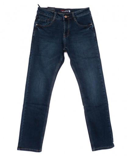 2421-2 Vimann джинсы мужские синие на байке зимние стрейчевые (30-38, 6 ед) Viman