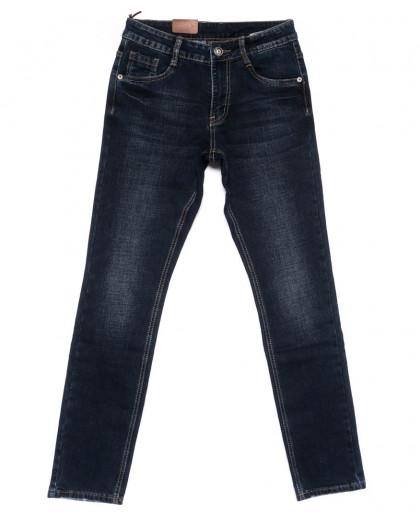 19087-3 Vimann джинсы мужские синие на байке зимние стрейчевые (29-37, 6 ед) Viman