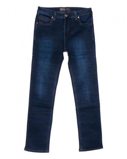 6631 Bagrbo джинсы мужские полубатальные синие осенние стрейчевые (32-38, 8 ед) Bagrbo
