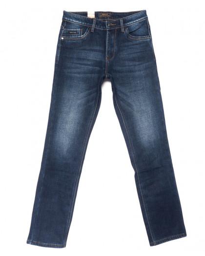 18238 Vouma-Up джинсы мужские синие на флисе зимние стрейчевые (29-38, 8 ед.) Vouma-Up