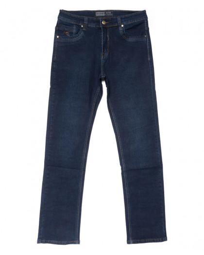 3318 Bagrbo джинсы мужские полубатальные синие осенние стрейчевые (32-42, 8 ед.) Bagrbo