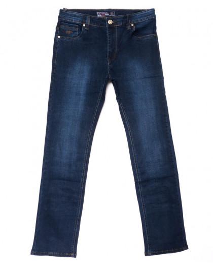 6610 Bagrbo джинсы мужские полубатальные синие осенние стрейчевые (33-38, 8 ед.) Bagrbo