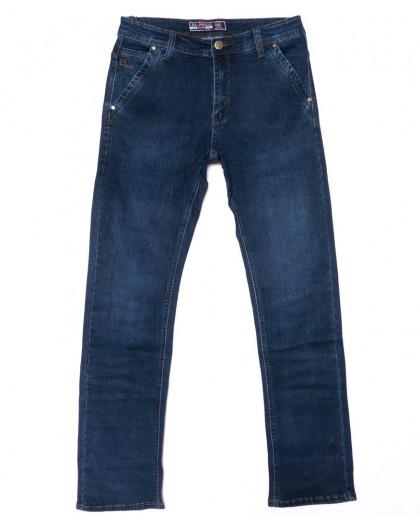 6603 Bagrbo джинсы мужские полубатальные синие осенние стрейчевые (32-38, 8 ед.) Bagrbo