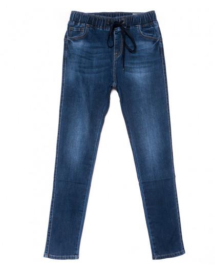 9445 LDM джинсы женские батальные синие осенние стрейчевые (31-38, 6 ед.) LDM
