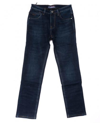 8208 Vouma-Up джинсы мужские синие на флисе зимние стрейчевые (29-38, 8 ед.) Vouma-Up