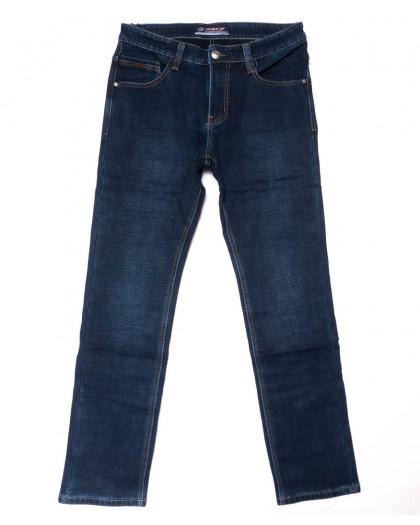8207 Vouma-Up джинсы мужские молодежные синие на флисе зимние стрейчевые (28-36, 8 ед.) Vouma-Up