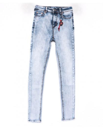 3577 New jeans американка голубая весенняя стрейчевая (25-30, 6 ед.) New Jeans