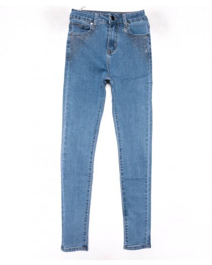 3579 New jeans американка синяя весенняя стрейчевая (25-30, 6 ед.) New Jeans