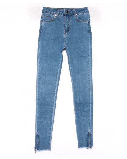 3583 New jeans американка синяя весенняя стрейчевая (25-30, 6 ед.) New Jeans