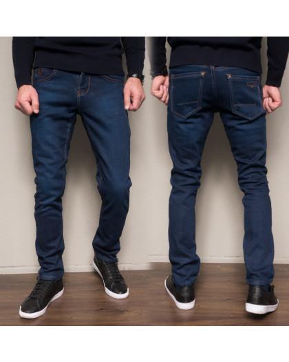 3029 Dsouaviet джинсы мужские полубатальные на флисе зимние стрейчевые (32-38, 8 ед.) Dsouaviet