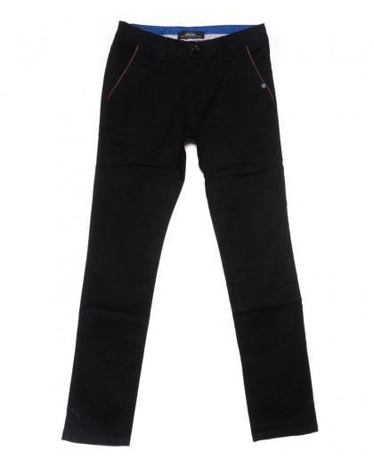0715-34 New Feerars брюки мужские черные осенние стрейчевые (29-38, 8 ед.) New Feerars