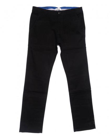 0718-34 New Feerars брюки мужские черные осенние стрейчевые (30-40, 8 ед.) New Feerars